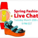 Join Us for a SPRING FASHION LIVE CHAT on 3/20!