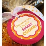 """Smart Cookie"" Teacher Gift {homemade gift idea}"