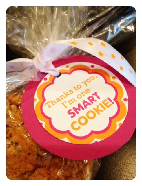 thanks to you, I'm one smart cookie