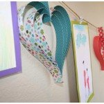 Father's Day Heart Banner {tutorial}