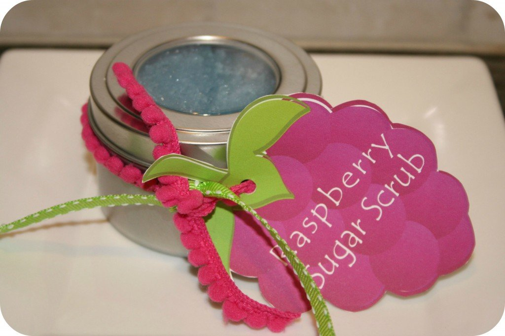 Raspberry Sugar Scrub