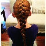 How to Make a Dutch Braid – {tutorial}