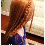 How to Make a Heart Braid – {tutorial}
