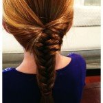 How to Make a Fish Tail Braid – {tutorial}