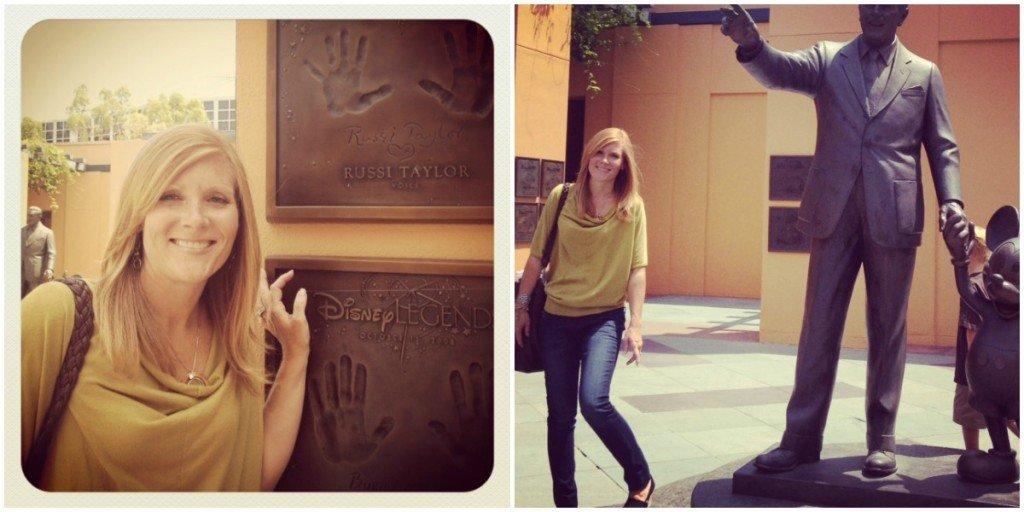 Angie at Disney Studios