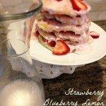 Strawberry Blueberry Lemon Ricotta Pancake Cake Recipe Plus Pancake & Syrup Brand Comparison