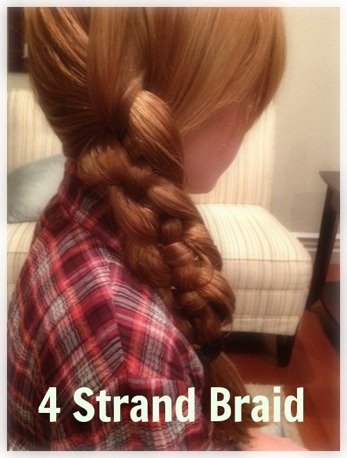 4 Strand Braids