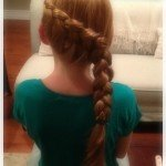 "How to Make a ""Katniss"" Braid {hair tutorial}"