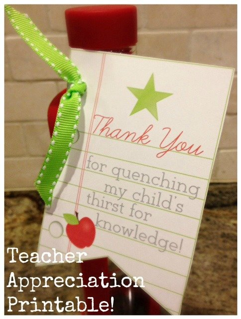 teacher appreciation thank you