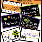 Halloween Candy Bouquet {free printable}