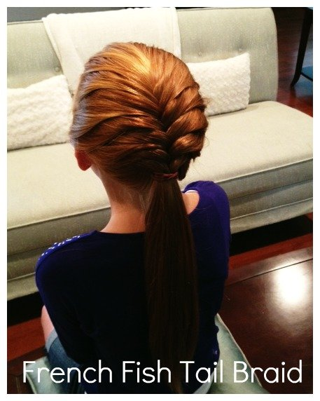 French Fish Tail Braid