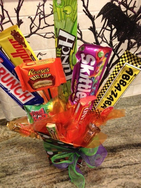 Halloween Candy Bouquet