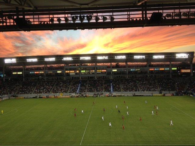 LA Galaxy Game