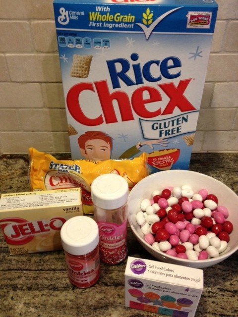 Vanilla Chex Mix ingredients