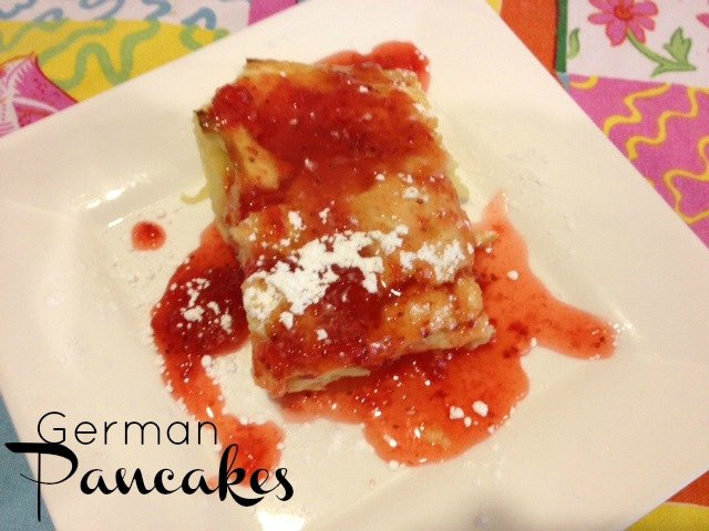 Easy German Pancakes Recipe