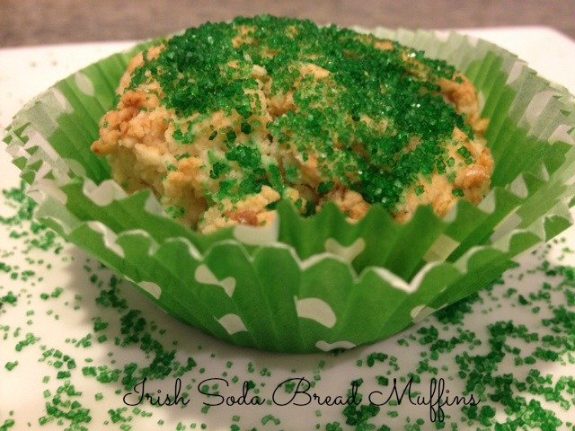 Irish Soda Bread Muffins