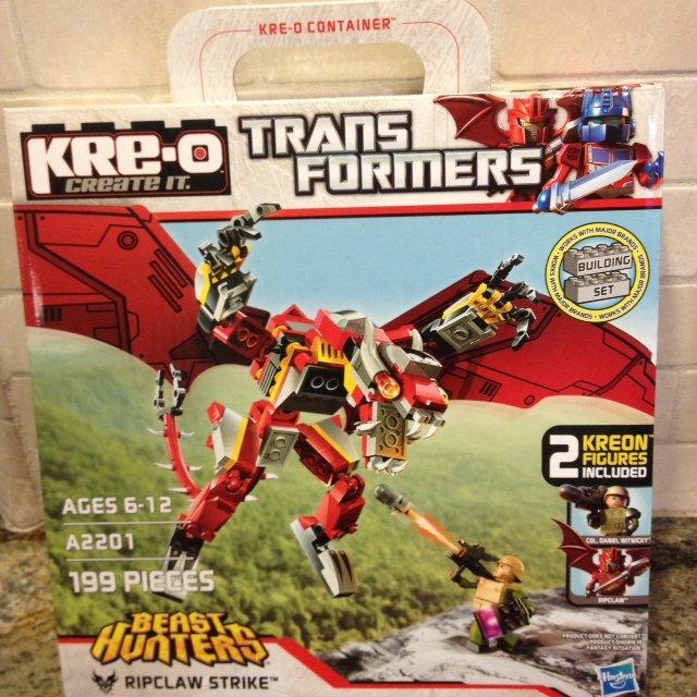 KRE-O Transformers Prime Beast Hunters