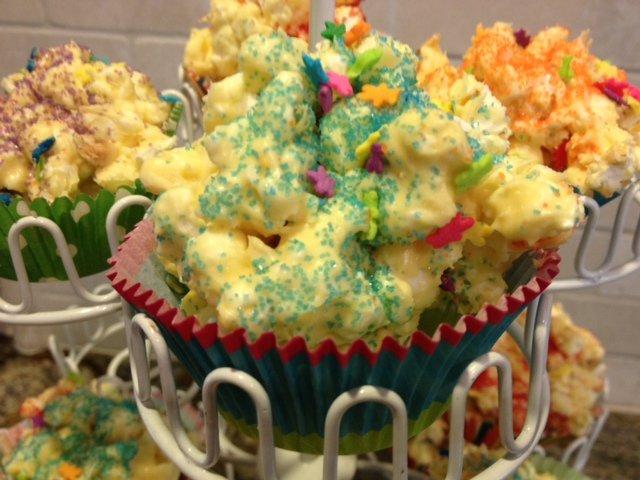 Sweet Easter Popcorn