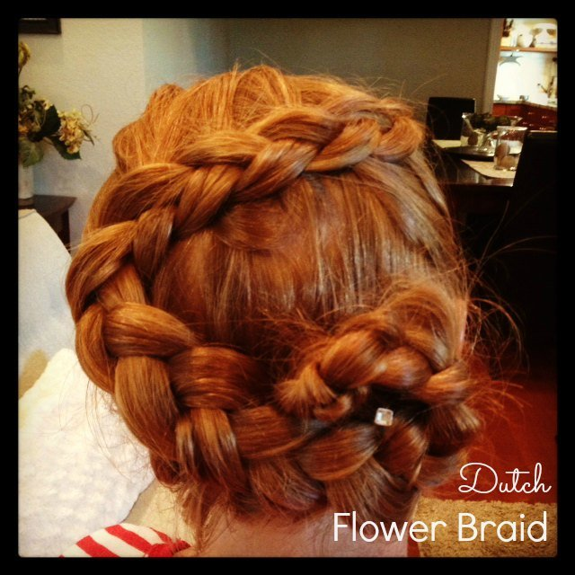 Groovy Dutch Flower Braid How To Hairstyle Inspiration Daily Dogsangcom