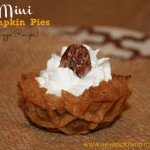 Mini Pumpkin Pies {Eggo® recipe} + GIVEAWAY