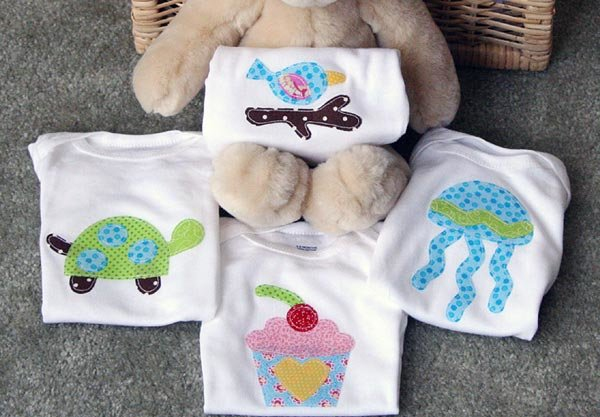 85 baby homemade gifts to make tip junkie these personalized one of a kind onesies by bump smitten make a great baby shower gift idea for the guest of honor family friends and neighbors who are negle Choice Image