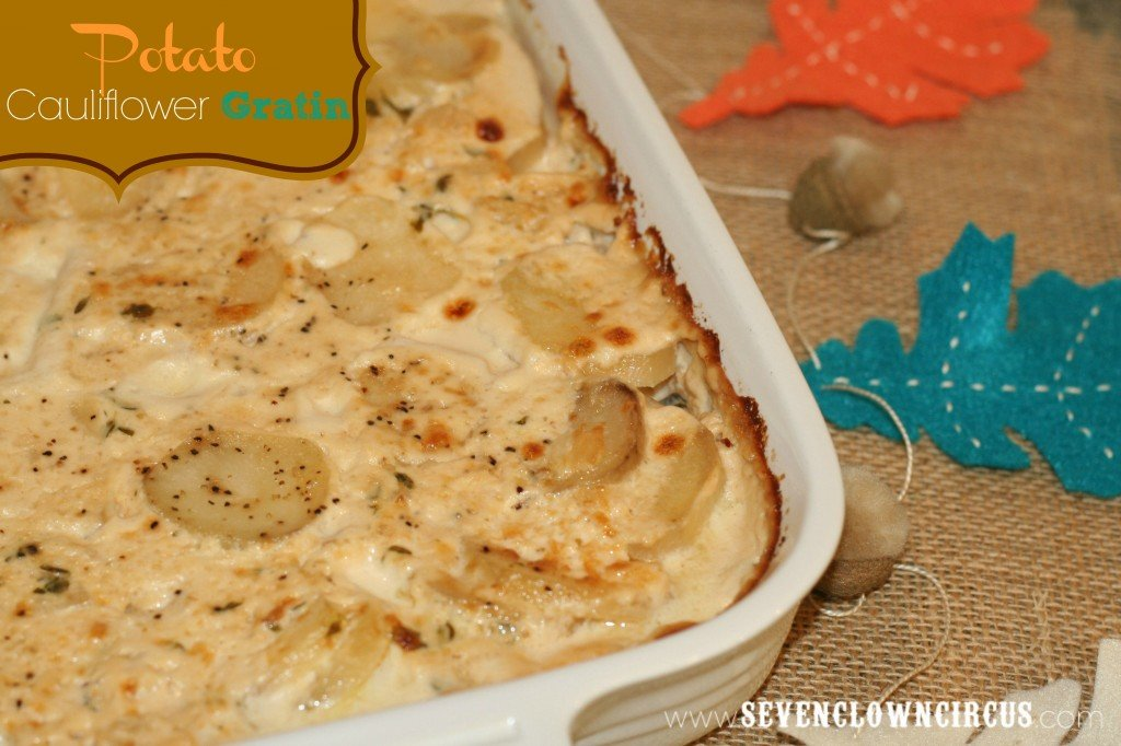 potato cauliflower gratin