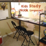 Carving Out a Study Nook {guest post}