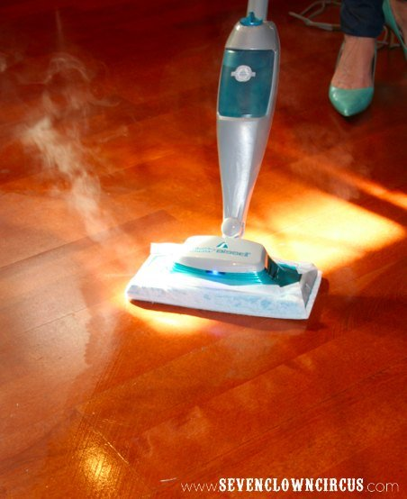 Swiffer steamboost