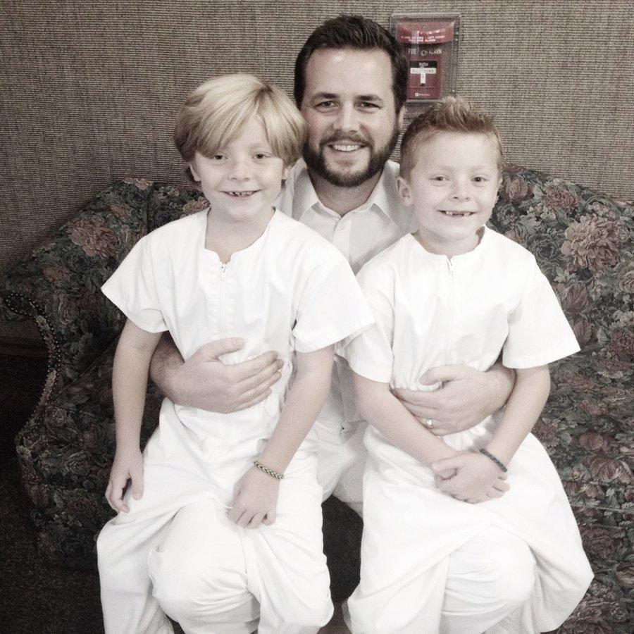 twins baptism