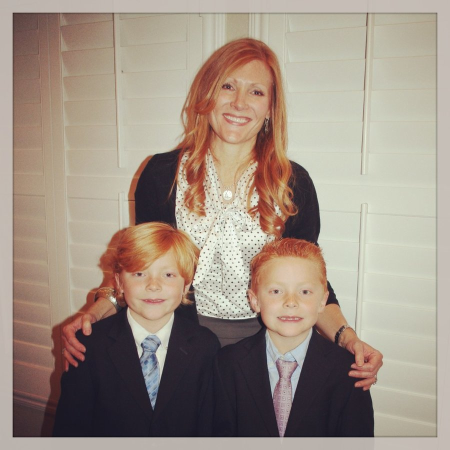 angie and twins