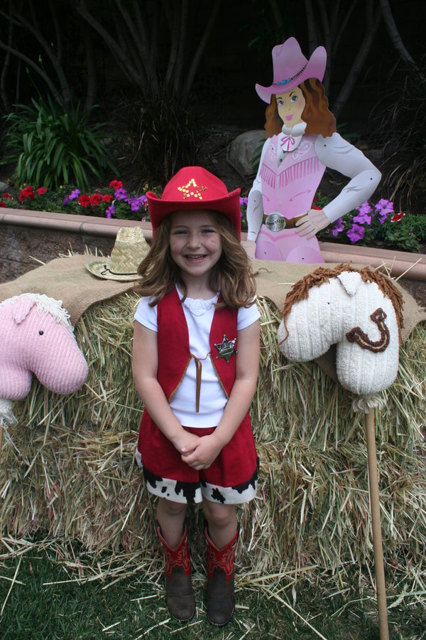 cowgirl themed party