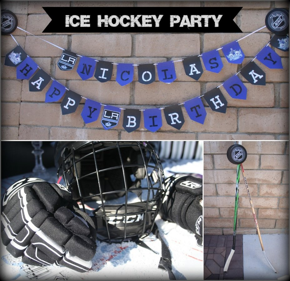Hockey Themed Party