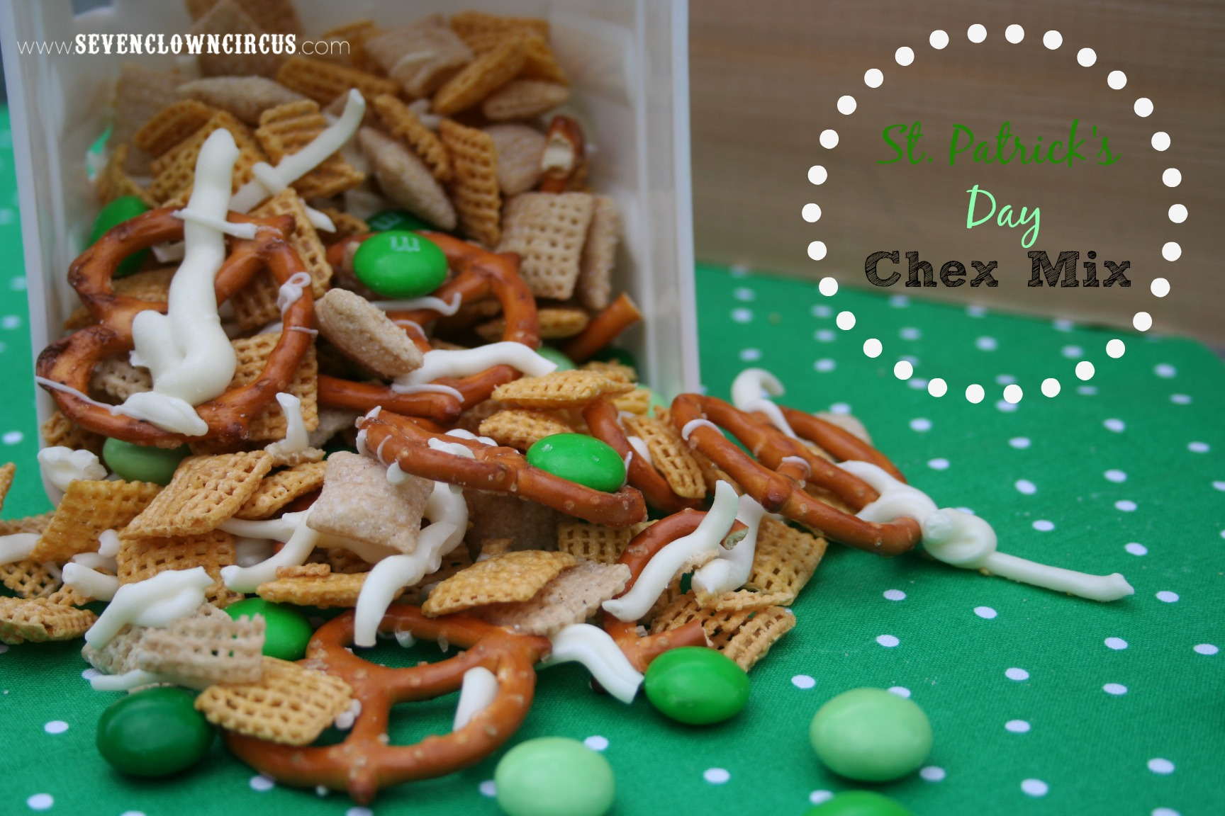 St. Patrick's Day Chex Mix