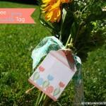 spring printable tags