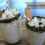 S'mores milk shake