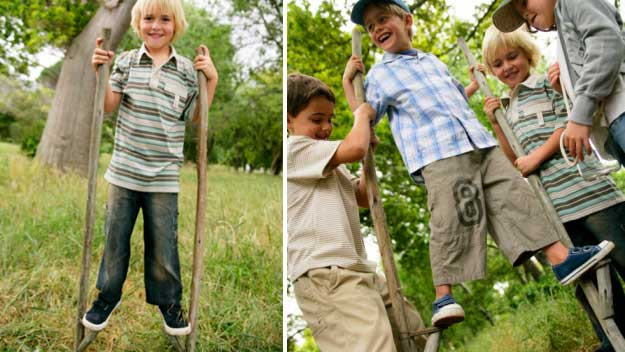 how to make stilts