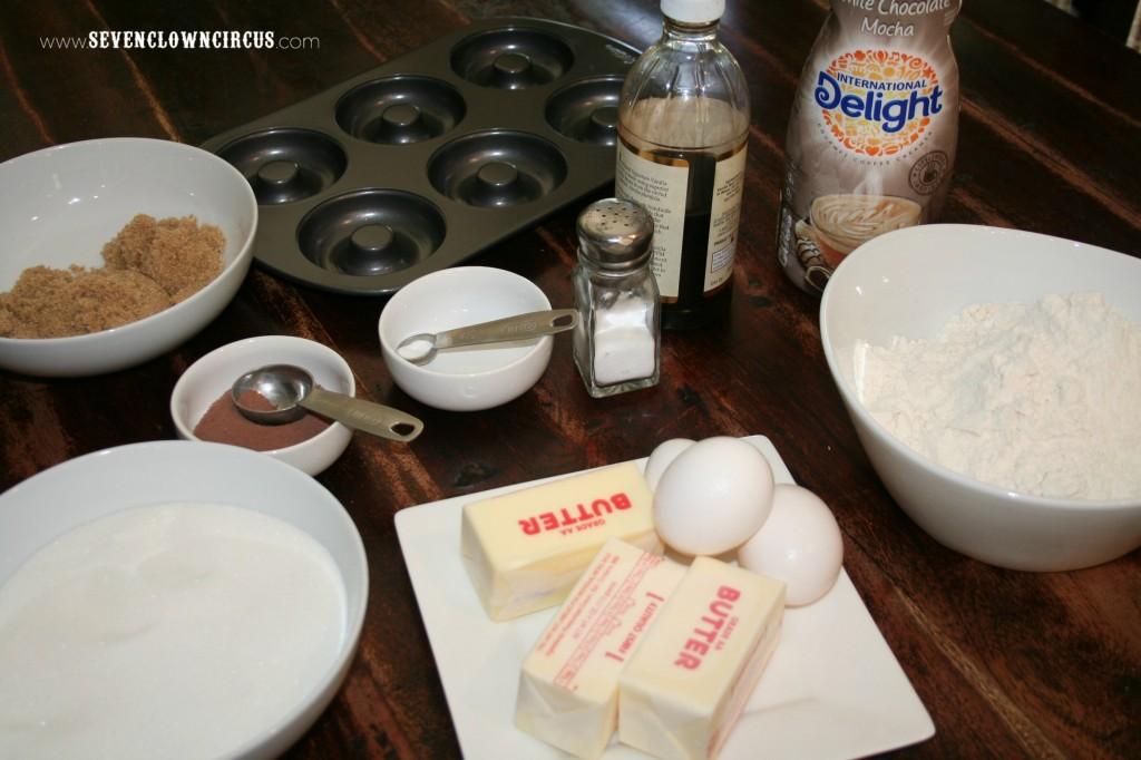white chocolate mocha donut recipe