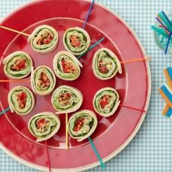 turkey pinwheel sandwiches
