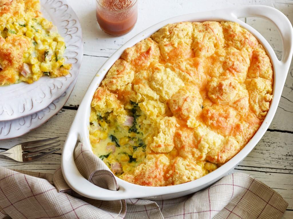 Cornbread Breakfast Casserole
