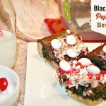 Peppermint M&M'S® Pretzel Sticks & Black & White Peppermint Brownies {recipes}