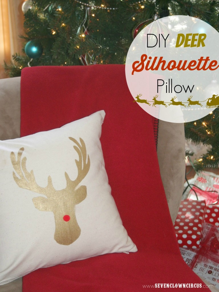 deer pillow