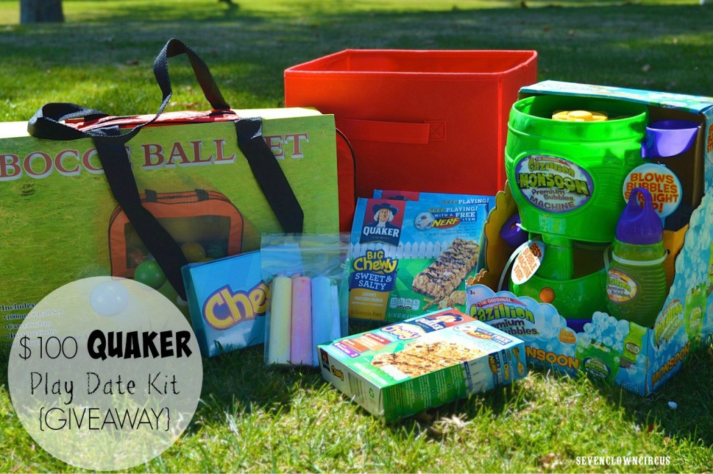quaker playdate kit