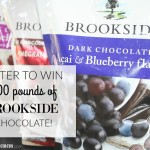 Enter to WIN 100 POUNDS of Brookside Chocolate!