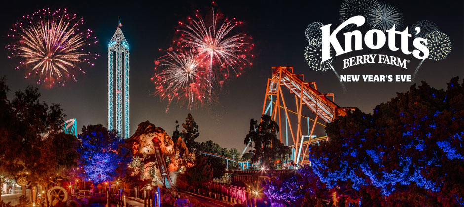 Knott's Berry Farm New Years Eve