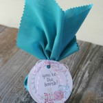 Bath Bomb Gift Tag {free printable}