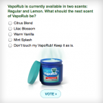 A New Scent for Vicks VapoRub?