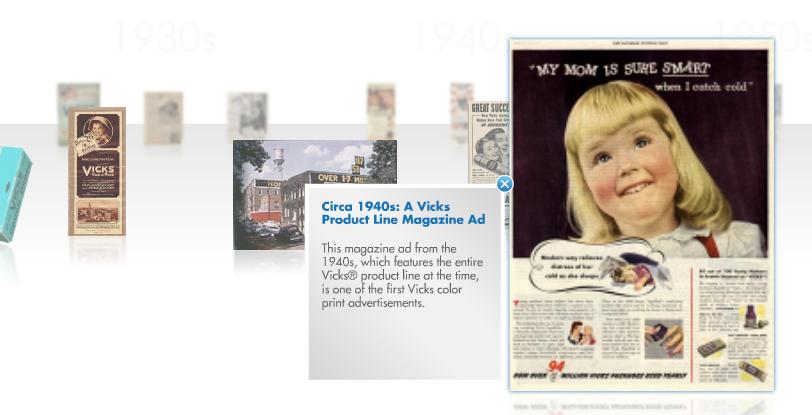 Vick's ad circa 1940's
