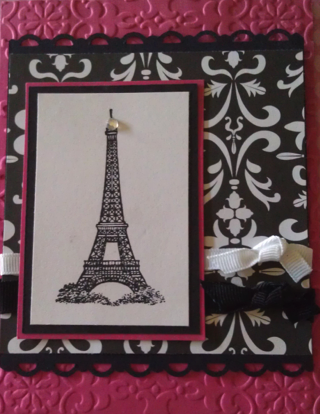 Parisian  Birthday Party Invitation