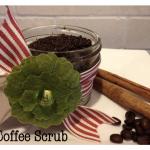 Coffee Sugar Scrub Recipe {homemade gift idea}