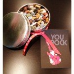 "Easy ""You Rock"" Teacher Gift {homemade gift idea}"